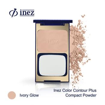Inez Color Contour Plus Compact Powder - Ivory Glow harga terbaik