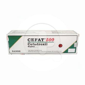 Cefat Kapsul 500 mg  harga terbaik