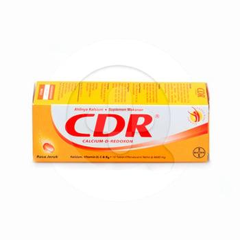 CDR Rasa Jeruk Tablet Effervescent  harga terbaik 52544