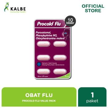 Procold Flu Kaplet Value Pack  harga terbaik 38000