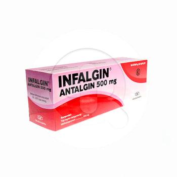 Infalgin kaplet adalah tablet untuk meredakan rasa nyeri, seperti sakit kepala dan sakit gigi