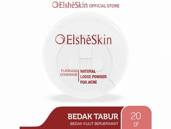 ElsheSkin Natural Loose Powder For Acne harga terbaik 135000