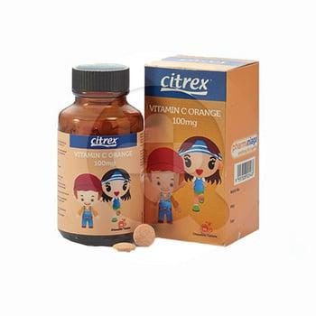 Citrex Vitamin C Rasa Jeruk Tablet 100 mg  harga terbaik 35540