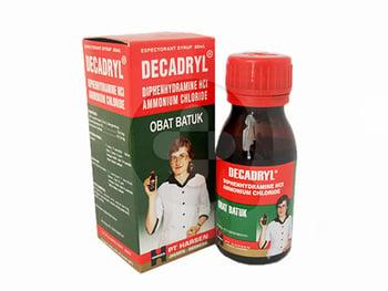 Decadryl Expectorant Sirup 60 mL harga terbaik 12009
