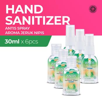Antis Botol Jeruk Nipis Mix Spray dan Gel 30 mL  harga terbaik 36960