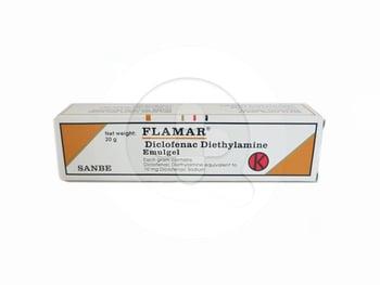 Flamar gel adalah krim yang digunakan untuk meredakan peradangan pada bagian otot dan sendi