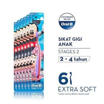 Oral-B Sikat Gigi Anak Stages 2 Mickey  harga terbaik 112200