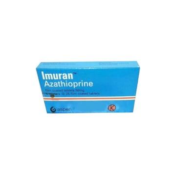 Imuran Tablet adalah obat untuk pengobatan pada pasien yang menerima transplantasi organ.
