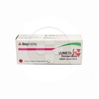Vometa FT tablet adalah obat yang digunakan untuk mengatasi rasa mual dan muntah