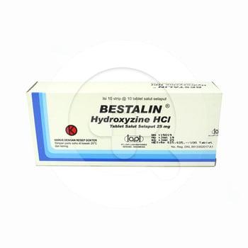 Bestalin tablet adalah obat untuk membantu mengobati alergi serta membantu mengatasi kecemasan