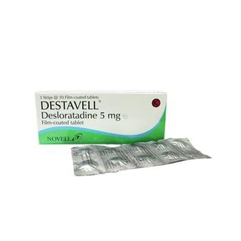 Destavell tablet adalah obat untuk meredakan gejala alergi seperti pada kondisi rhinitis alergi