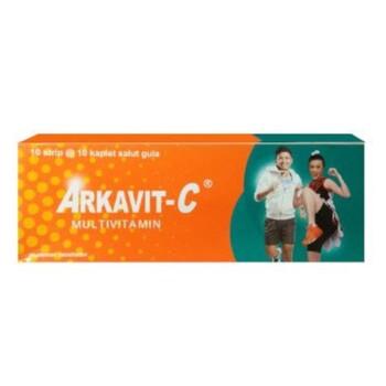 Arkavit-C kaplet adalah suplemen untuk memenuhi kebutuhan vitamin B kompleks dan vitamin C.
