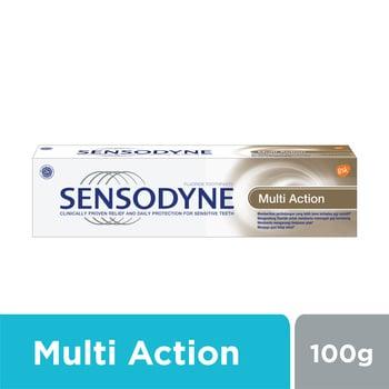 Sensodyne Multi Action Pasta Gigi Sensitif Aksi Ganda 100 g harga terbaik 33200