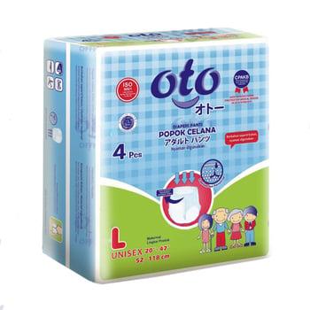OTO Adult Diapers Pants / Popok Dewasa Model Celana - L  harga terbaik 29800