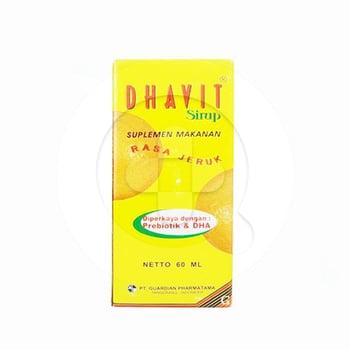 Dhavit Sirup 60 mL harga terbaik 40161