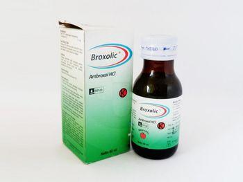 Broxolic sirup 60 ml berguna sebagai sekretolitik pada gangguan saluran nafas akut dan kronis.