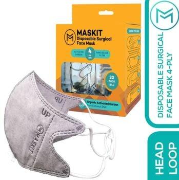 Maskit Masker Duckbill Hijab/Headloop/Headloop 4Ply KEMENKES  harga terbaik