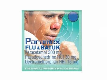Paramex Flu Dan Batuk Tablet  harga terbaik 2294