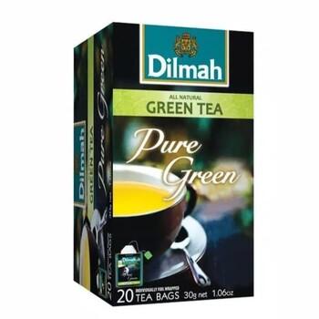 Dilmah Pure Green Tea (Foil Envelope 20s)