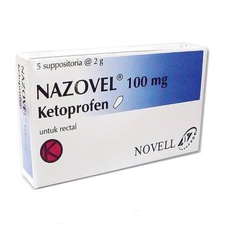 Nazovel tablet adalah obat untuk meredakan nyeri dan peradangan seperti pada peradangan sendi