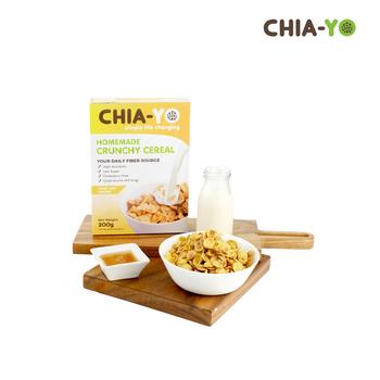 Chia-Yo Homemade Crunchy Cereal 200 g harga terbaik 70000