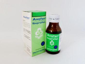 Axofen suspensi 60 ml obat yang digunakan untuk menurunkan deman dan meringankan rasa nyeri