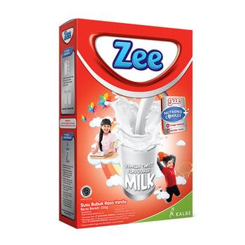Zee Reguler Vanilla Twist Milk 350 g, Susu Anak Terbaik
