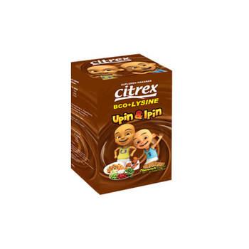 Citrex Vit BCO + Lysine Coklat Tablet  harga terbaik