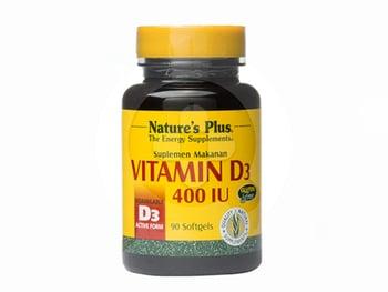 Nature's Plus Vitamin D3 400 IU Softgel  harga terbaik 184000
