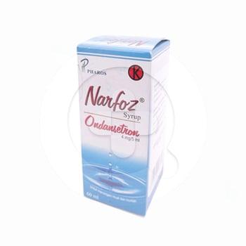Narfoz sirup 60 ml adalah obat yang digunakan untuk penanggulangan mual dan muntah