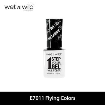 Wet N Wild 1 Step Wonder Gel Nail Color E7011 Flying Colors harga terbaik 129000