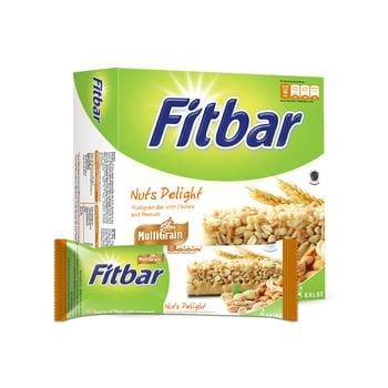 Fitbar Multigrain Nuts 5 x 22 g harga terbaik