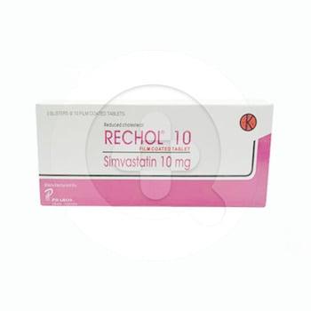 Rechol tablet adalah obat untuk menurunkan kadar kolesterol jahat dan lemak yang tinggi
