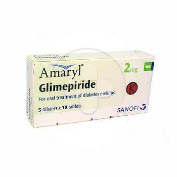 Amaryl dapat digunakan untuk pengobatan diabetes melitus tipe 2