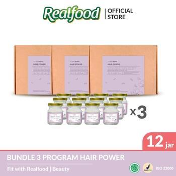 Realfood Hair Power Triple Bundle harga terbaik 1950000