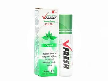 V Fresh Original Roll On 4 mL harga terbaik 10308