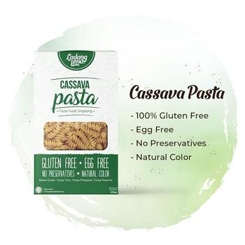 Ladang Lima Cassava Pasta Fusilli 100 g harga terbaik 18000