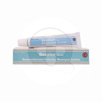 Bevalex krim 5 g untuk meringankan inflamasi dari dermatosis.