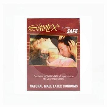 Simplex Kondom Super Safe Brown  harga terbaik