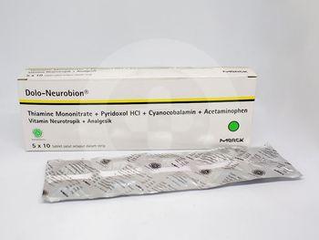 Dolo Neurobion tablet adalah obat untuk mengurangi rasa nyeri pada saraf
