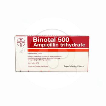 Binotal tablet adalah obat untuk mengobati infeksi.