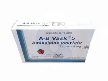 A-B Vask 5 mg Tablet  harga terbaik