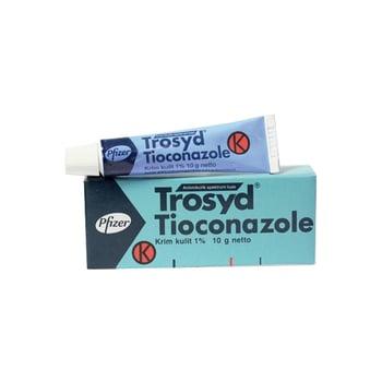 Trosyd Krim 1% - 10 g adalah obat untuk infeksi kulit yang disebabkan oleh jamur yang sensitif.