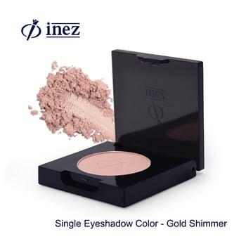 Inez Single Eyeshadow Color Gold Shimmer harga terbaik