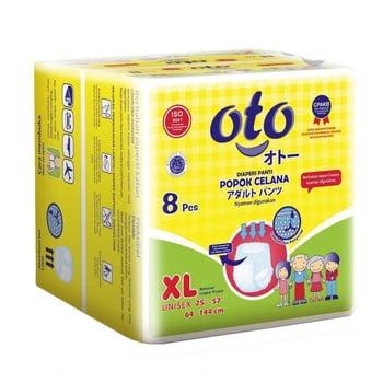OTO Adult Diapers Pants / Popok Dewasa Model Celana - XL  harga terbaik 66000