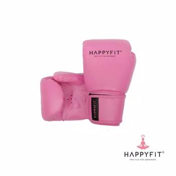 Happyfit Boxing Gloves 10Oz - Pink harga terbaik 350000