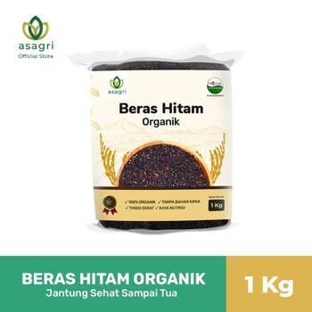 Asagri Beras Hitam Organik 1 Kg harga terbaik 35000