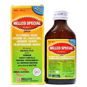 Nellco Special OBH Menthol Sirup 100 mL harga terbaik 27923