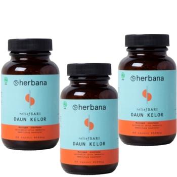 Herbana Relief Sari Daun Kelor - 60 Kapsul  harga terbaik 375000