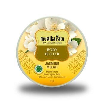 Mustika Ratu Body Butter Jasmine 200 g harga terbaik 48100